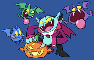 Dracula and Company by Meowtwo