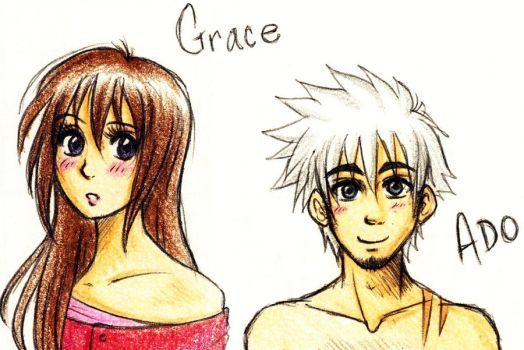 Ado and Grace by Maki123