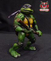 TMNT THE MOVIE 1990 REPAINT 12 by wongjoe82