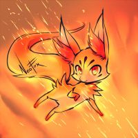 Fennekin - Pokemon by neofox
