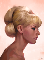 Profile Study by AaronGriffinArt