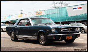 1966 Ford  Mustang by compaan-art