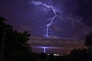 Lightning by johannes-w
