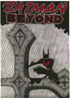 Batman Beyond Cover by neobatwoman