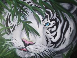 White tiger by angel-of-solitude