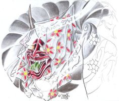 Hanya Blossom TaT Design by 2Face-Tattoo
