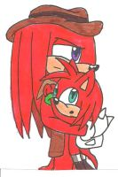 Knuckles and Stanley by cmara