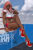 Basketball pinup #2 by blinded-dinosaur