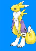 Renamon by Silverbirch