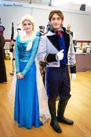 Elsa and Hans 1 by elichan92