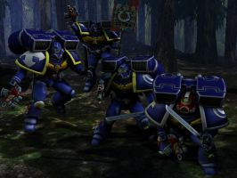 Ultramarines by revfuggit