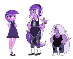 Double Amethyst Fusion by TheCheeseburger
