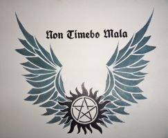 Supernatural - Non Timebo Mala by Mica-foREVer