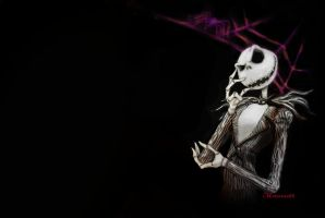 jack skellington aracno by twisted-wind