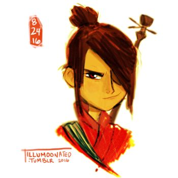 Kubo and the Two Strings by LittleMsArtsy