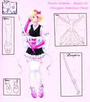 Marise Asahina -Shinigami Reference Sheet- by amber-sky