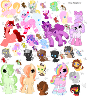 Huge Pony Adoption Sheet! by Wish-Granter