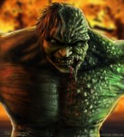 Hulk Infected by AtomiccircuS