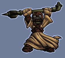 Kwinz's tusken raider colored by shalomone