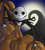 Jack Skellington by Akei-Tyrian