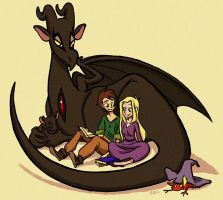 Reversal of the bedtime story by sarsel