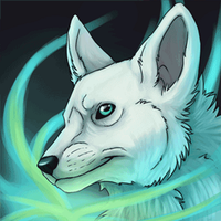 Icon Animated - Arctic Fox by Mikaley