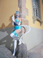 Blue Rose  cosplay by valentinachan