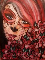 Day of the Dead Girl by ElizaDrew