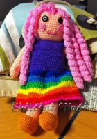 Crochet doll - inspired by Lalaloopsy by Sheeeva