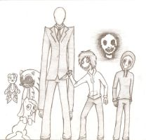 Creepypasta group by Reyriders