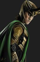 Loki by ceruleanapple