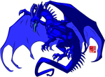 Blue Dragon by lionheart214