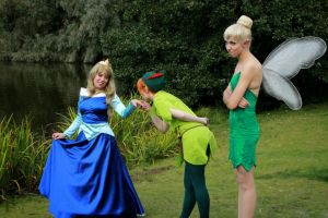 Jealous Tinker Bell... by MarineMaid