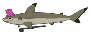 Blacky the Blacktip Reef Shark by Windicious