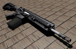 Heckler and Koch HK417 by Jor-Dan