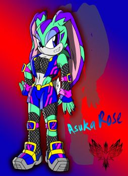 Asuka Rose the Rabbit by Chase-TH