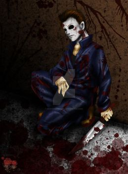 Michael Myers: Bloody Awesome by BOs1andOnlyGrl