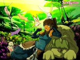 Korra in The Spiritual Landscape by SolKorra