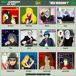 2014 Summary Of Art Meme by NeoVersion7