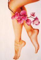 legs and flowers by pssicolabile