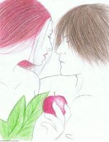 Adam and Eve by berrytea3