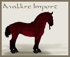 Avalkre Horse Import 10 by ReaWolf