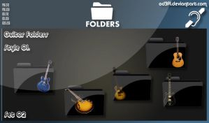 Guitar Folders - Style 01 Set 02 by od3f1