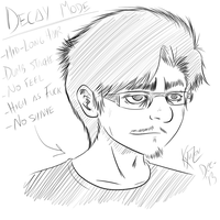 Me on decay ... by ElKyuZou