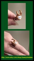 Loki Adjustable Ring by Sugar-Bolt