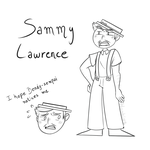 Sammy Lawrence (before ink) by Hoobins