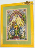 Zelda cross stitch by elbuhocosturero