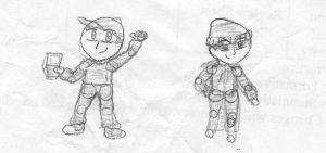 jack and Haque sketch by Z-ComiX