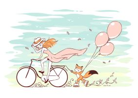 Spring Ride by freeminds