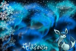 Glaceon Wallpaper by SlaveWolfy